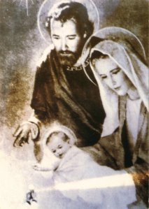 Miraculous Photo of the Holy Family
