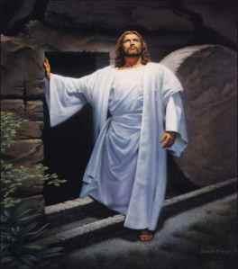 Jesus Risen at Tomb
