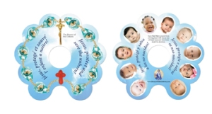Rosary of the Unborn Finger Card