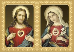 Two Hearts of Jesus and Mary