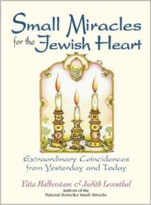 Book Cover - Small Miracles for the Jewish Faith