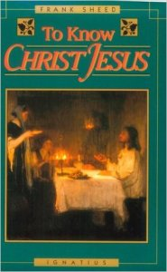 Book Cover - To Know Christ Jesus