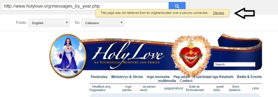 Google Translator - Holy Love Ministry - Step Five