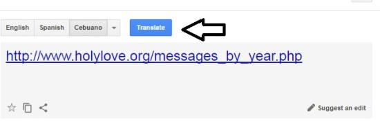 Google Translator - Holy Love Ministry - Step Four