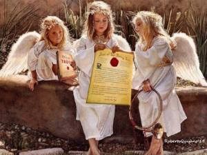 Angels and the Seal of the Living God